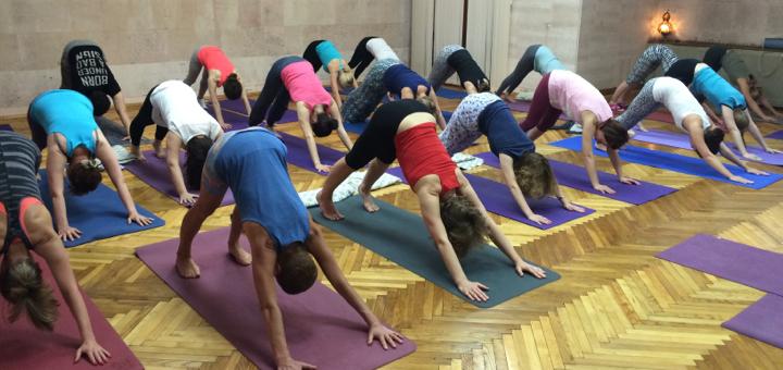 день йоги в Минске