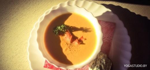 морковно-имбирный крем-суп