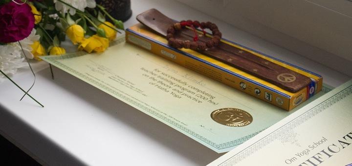 сертификат omyogaschool