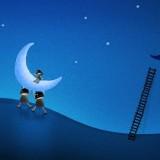 серп луны и человечки