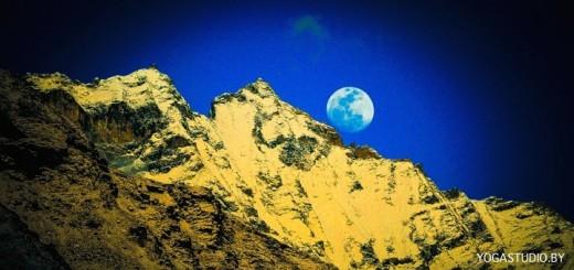 луна гималаи