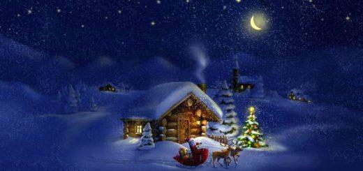 луна в новый год