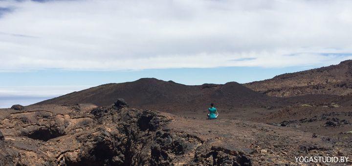 медитация в горах Кристина Томаль