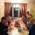 ужин йога-дом